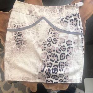 Skirts - Leopard print Italian skirt